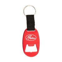 ALUMINUM BOTTLE OPENER WITH KEY RING