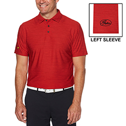 JACK NICKLAUS HEATHERED SPORT POLO - MEN'S